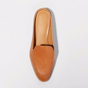 Women's Amber Backless Loafer Mules - Cognac